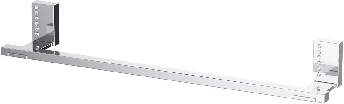 Держатель полотенец Lineag Tiffany Lux, 40 см, цвет: хром. TIF 908LUX 022В течение 20 лет компания Lineag разрабатывает и производит эксклюзивные аксессуары для ванной комнаты, используя современные технологии и высококачественные материалы. Каждый продукт Lineag произведен исключительно в Италии. Изысканный дизайн аксессуаров Lineag создает уникальную атмосферу уюта и роскоши в вашей ванной.