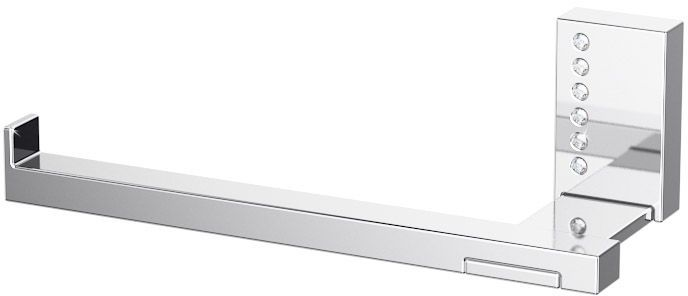 Держатель туалетной бумаги Lineag Tiffany Lux, цвет: хром. TIF 913TIF 913В течение 20 лет компания Lineag разрабатывает и производит эксклюзивные аксессуары для ванной комнаты, используя современные технологии и высококачественные материалы. Каждый продукт Lineag произведен исключительно в Италии. Изысканный дизайн аксессуаров Lineag создает уникальную атмосферу уюта и роскоши в вашей ванной.