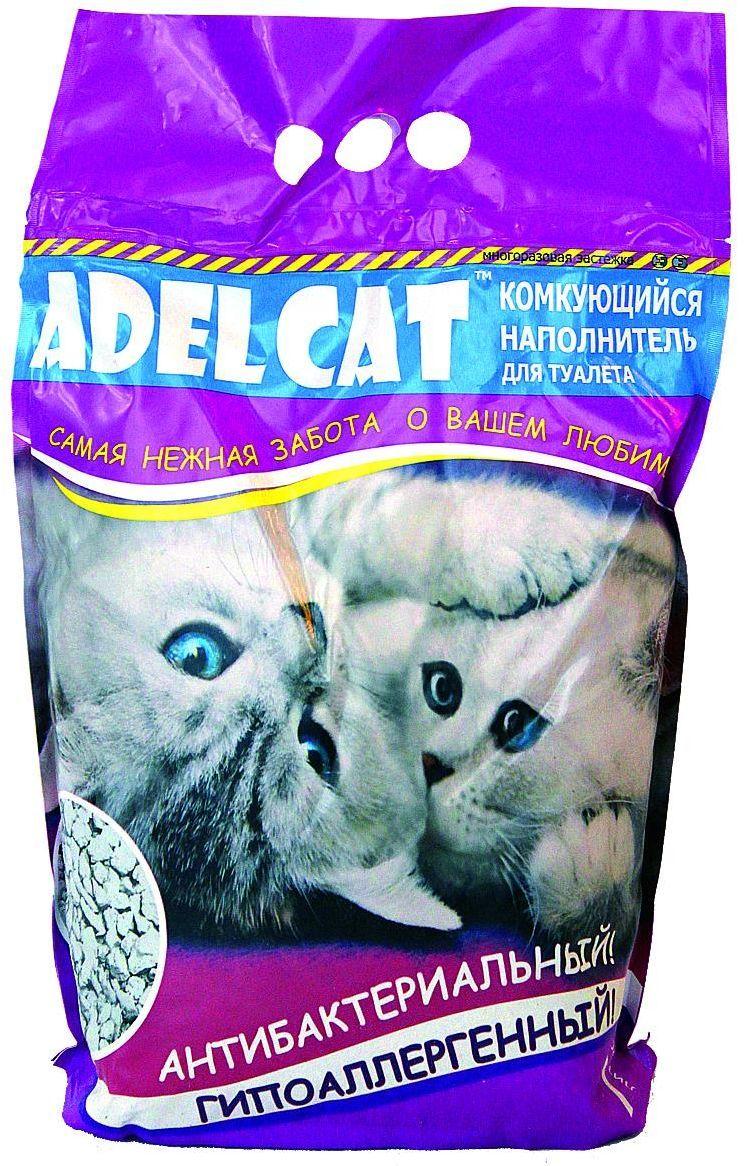 Наполнитель для кошачьего туалета Adel Cat, комкующийся, 7 л