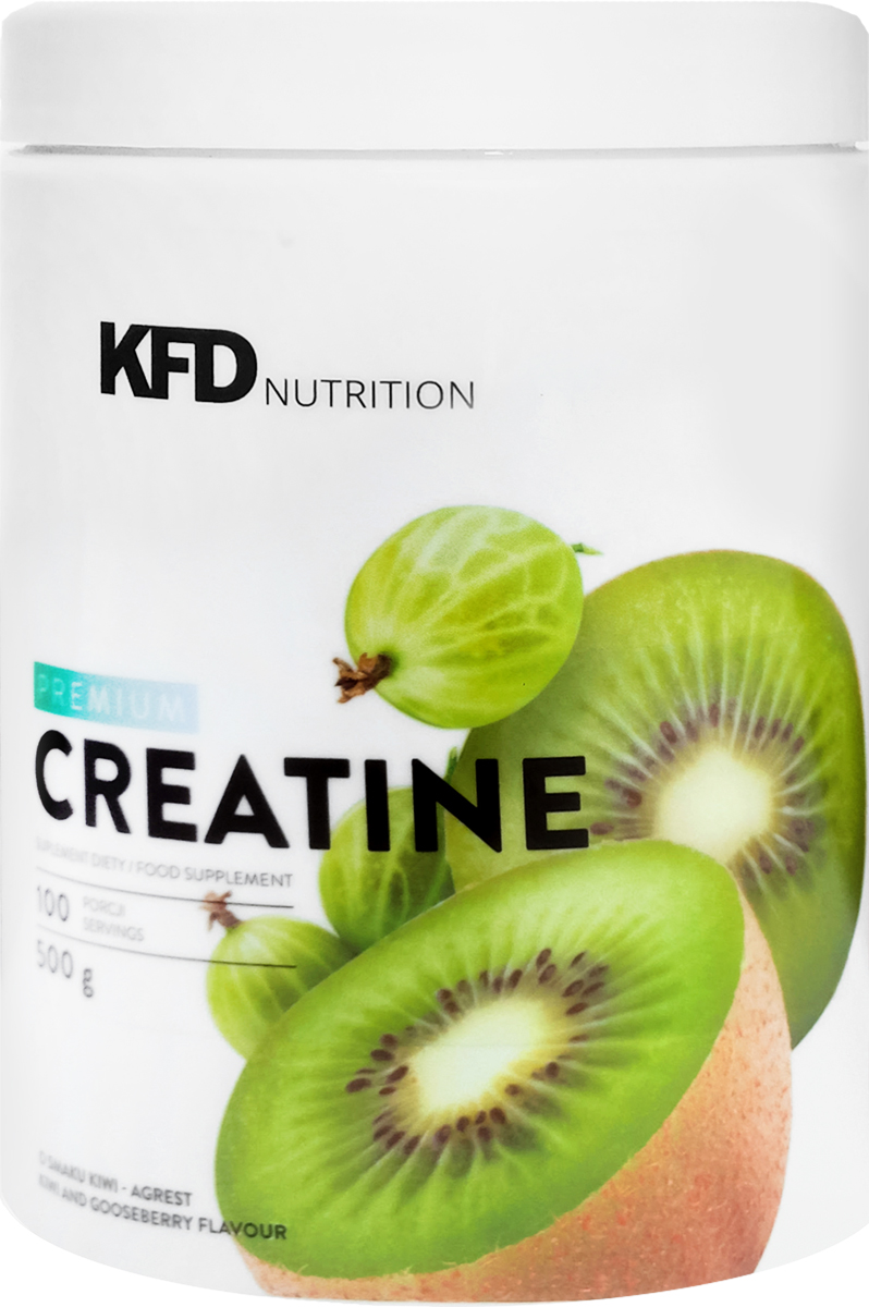 Креатин KFD Premium Creatine, киви, крыжовник, 500 г
