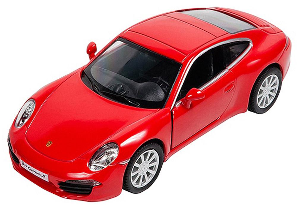 Pitstop Модель автомобиля Porsche 911 Carrera S цвет красный модель машины schuco n191 1 87 911