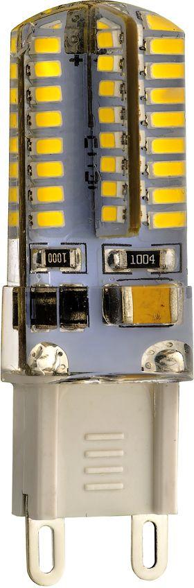 Лампа светодиодная REV, холодный свет, цоколь G9, 3W32368 6Энергосберегающая светодиодная лампа в форме кукуруза холодного свечения. Потребляемая мощность 3Вт. Интенсивность свечения аналогична обычной лампе накаливания мощностью 25Вт. Цоколь G9. Срок службы 30000 час. Световой поток 250Лм, цветовая температура 4000К. Напряжение 220В. Гарантия 24 месяца.