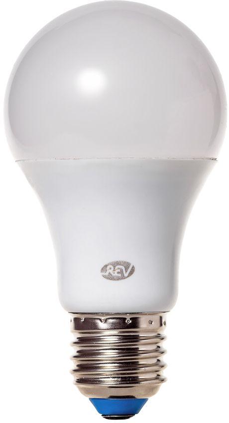 """Энергосберегающая светодиодная лампа """"REV"""" используется как в бытовых осветительных приборах, так и для освещения общественных и служебных помещений. Потребляемая мощность энергосберегающих ламп в 5-10 раз ниже, чем у обычных ламп накаливания при той же интенсивности свечения. Энергосберегающая светодиодная лампа грушевидной формы холодного свечения. Интенсивность свечения аналогична обычной лампе накаливания мощностью 70 Вт. Срок службы 30 000 часов. Номинальное напряжение 220-240 В."""