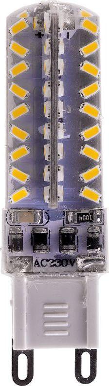 Лампа светодиодная REV, теплый свет, цоколь G9, 3W. 32382 232382 2Энергосберегающая светодиодная лампа REV используется как в бытовых осветительных приборах, так и для освещения общественных и служебных помещений. Потребляемая мощность энергосберегающих ламп в 5-10 раз ниже, чем у обычных ламп накаливания при той же интенсивности свечения. Энергосберегающая диммируемая светодиодная лампа в форме кукуруза теплого свечения. Интенсивность свечения аналогична обычной лампе накаливания мощностью 25 Вт. Срок службы 30 000 часов.