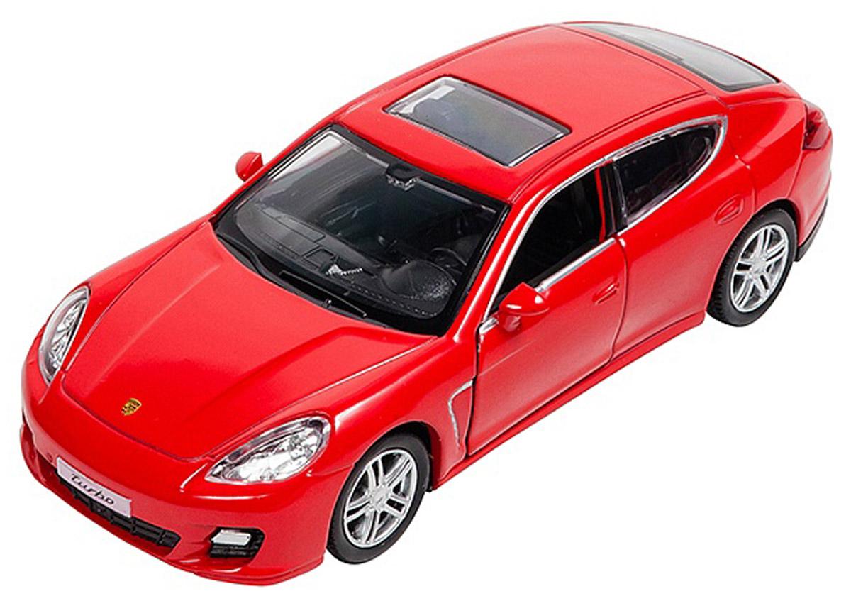 Pitstop Модель автомобиля Porsche Panamera Turbo цвет красный игрушка hoffmann porsche panamera turbo s 1 24 47954