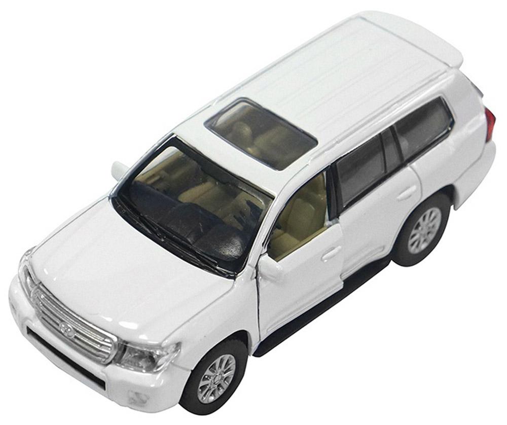 Pitstop Модель автомобиля Toyota Land Cruiser цвет белый pitstop модель автомобиля range rover evoque цвет белый