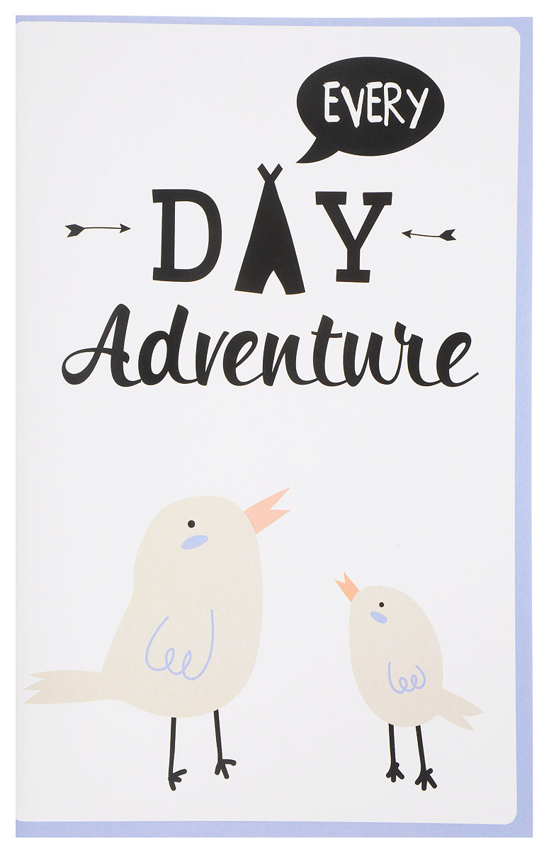 Every Day Adventure. Блокнот для записей блокнот собаки бросай дела a5 64 стр