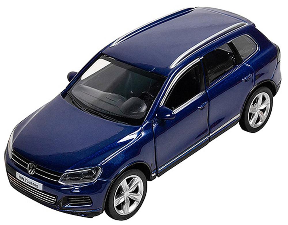 Pitstop Модель автомобиля Volkswagen Touareg цвет синий bburago модель автомобиля volkswagen touareg цвет синий масштаб 1 18