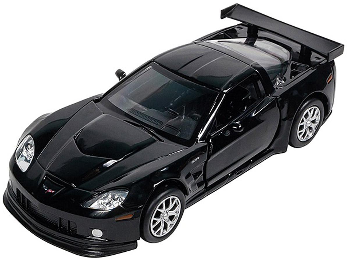 Pitstop Модель автомобиля Chevrolet Corvette C6-R цвет черный motormax модель автомобиля corvette 1967 цвет черный