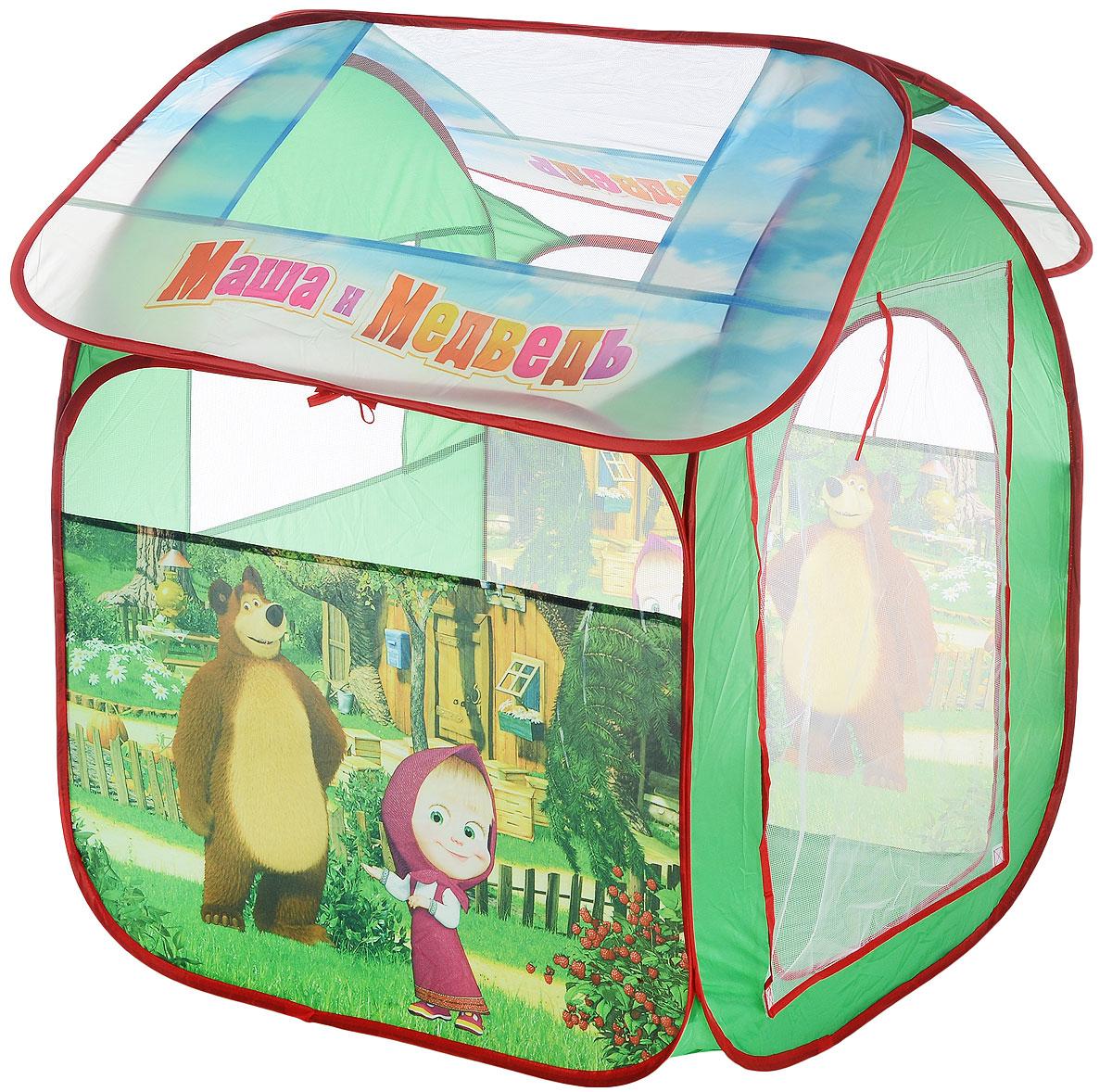Играем вместе Детская игровая палатка Маша и Медведь 83 х 80 х 105 см
