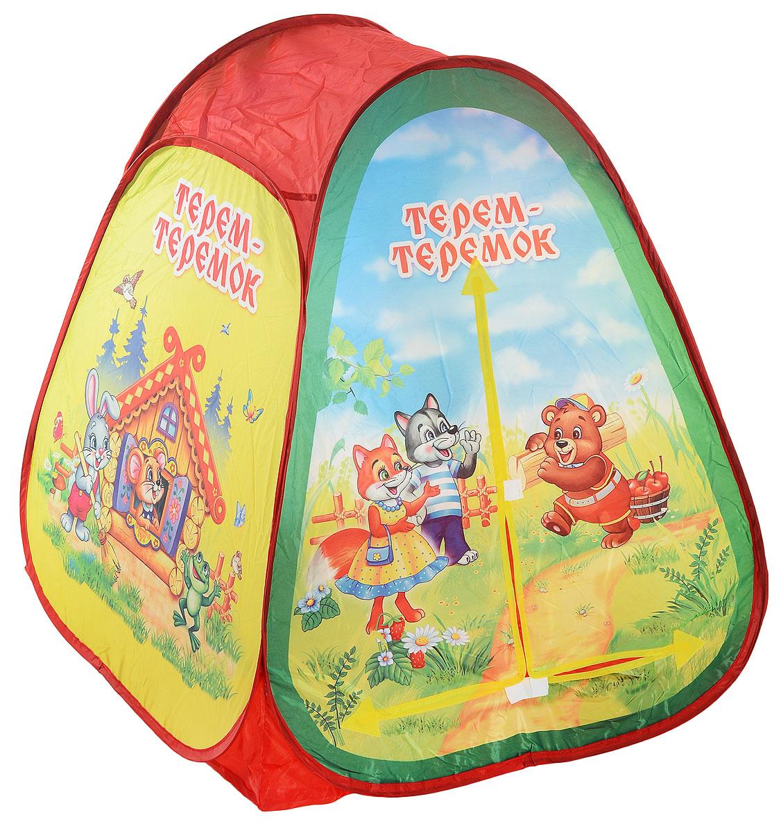 Играем вместе Детская игровая палатка Теремок 81 х 91 х 81 см