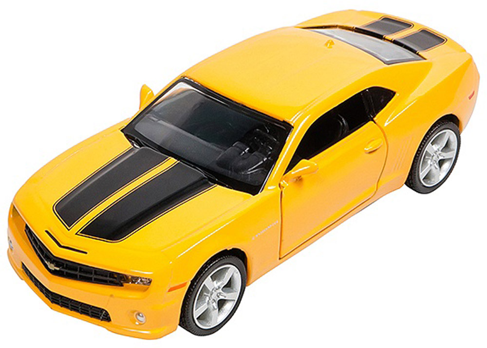 Pitstop Модель автомобиля Chevrolet Camaro цвет желтый maisto модель автомобиля chevrolet bel air 1957 цвет оранжевый