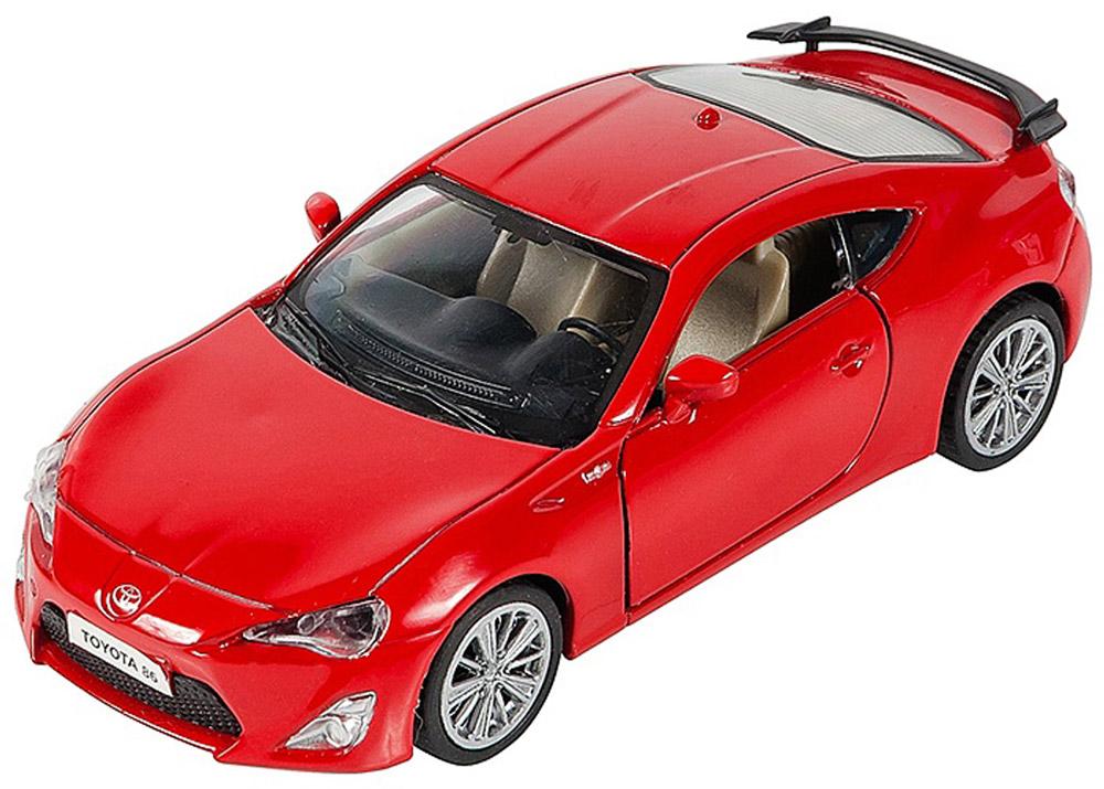 Pitstop Модель автомобиля Toyota GT-86 цвет красный pitstop модель автомобиля toyota gt 86 цвет красный