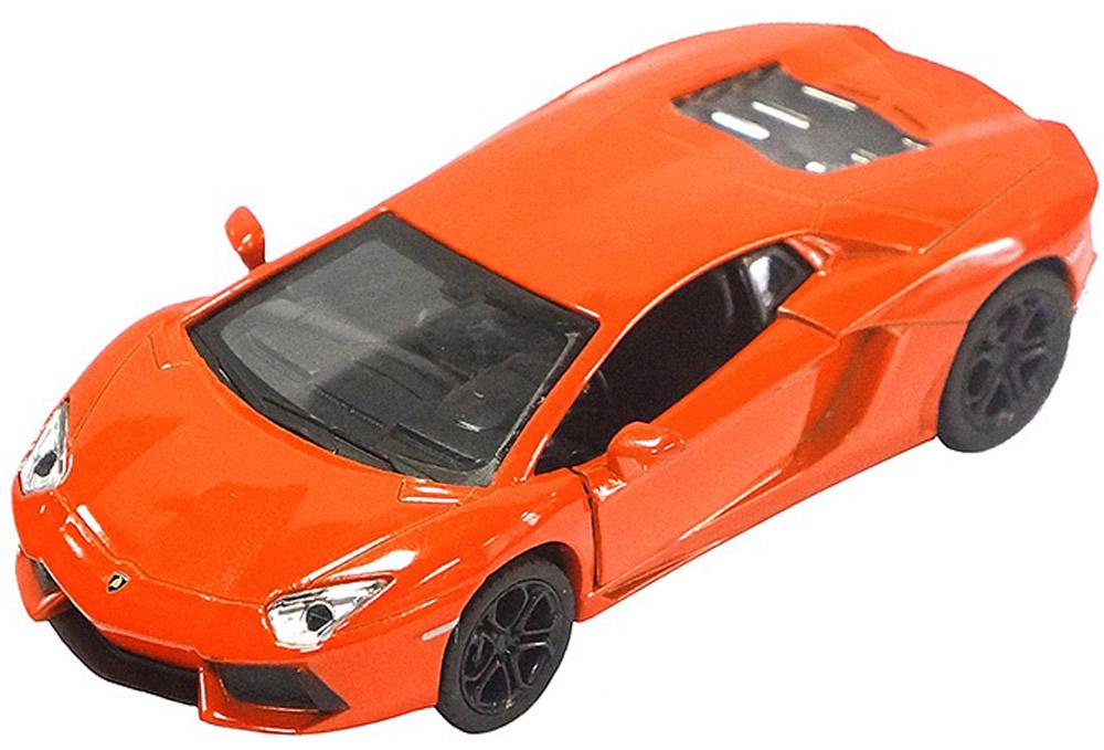Pitstop Модель автомобиля Lamborghini Aventador LP700-4 цвет оранжевый модель машины fx lp700 4 aventador