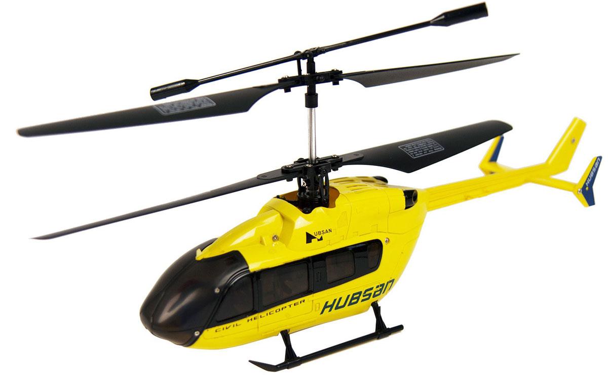 Hubsan Вертолет на радиоуправлении цвет желтый купить вертолет на пульте управления в костроме