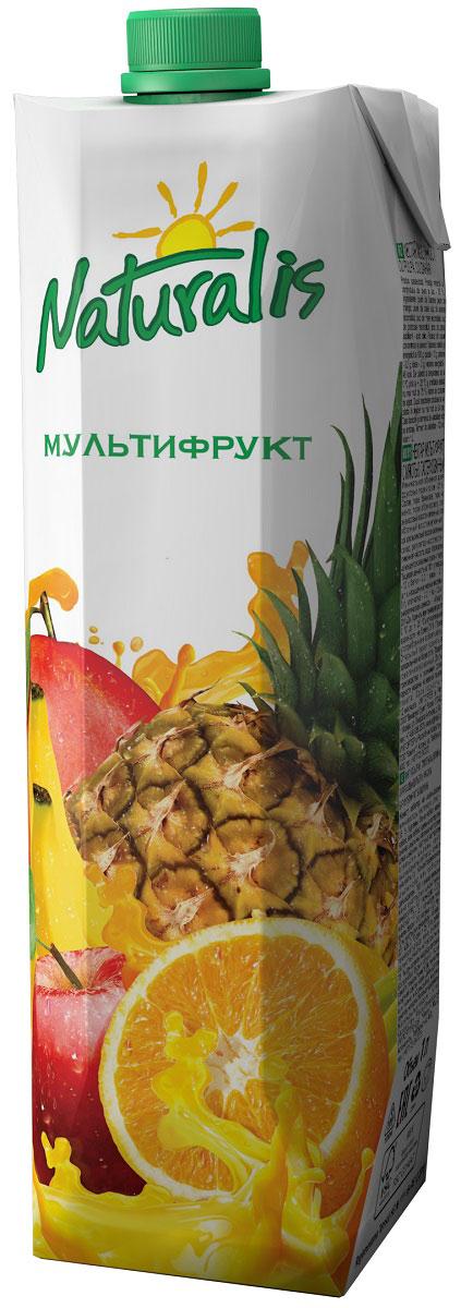 Naturalis нектар мультифрукт с мякотью, 1 лВГС_108Мультифрукт – это сочетание соков из различных вкуснейших экзотических фруктов. Чаще всего наилучшие вкусовые сочетания находят в комбинации апельсинов, манго и банана. Но в составе сока Naturalis Мультифрукт количество фруктов еще больше: абрикос, ананас, яблоко. Naturalis Мультифрукт – это неповторимый вкус благодаря очень интересной и неповторимой комбинации фруктов.
