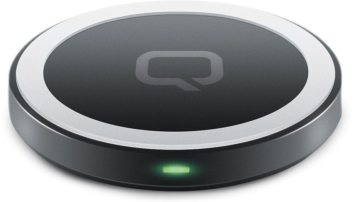 Qumo PowerAid Qi Mini Table Charger беспроводное зарядное устройство беспроводное зарядное устройство qumo qi c charger 005 1 5a черный
