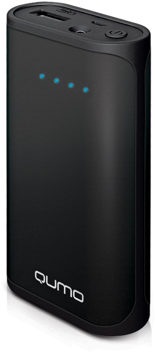 Qumo PowerAid 5200, Black внешний аккумулятор lcd display adjustable temperature automatic anion hair curler magic styling tools