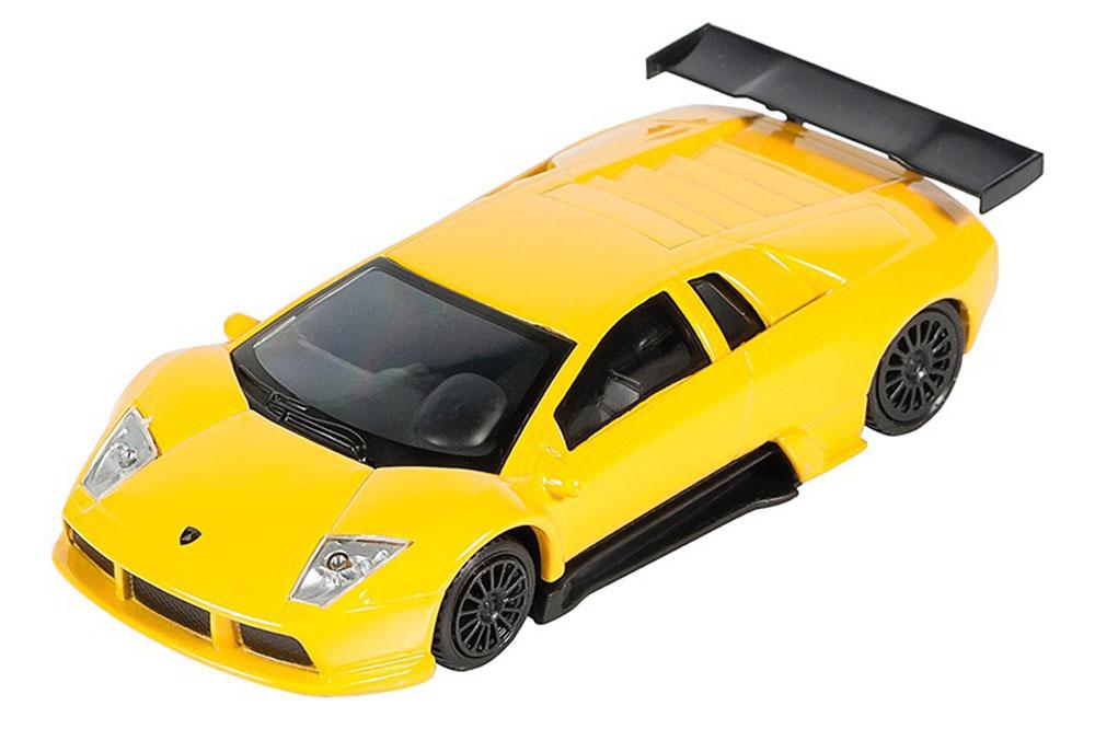 Pitstop Модель автомобиля Lamborghini Murcielago R-GT цвет желтый модель автомобиля lamborghini murcielago lp670 4 масштаб 1 43 39500