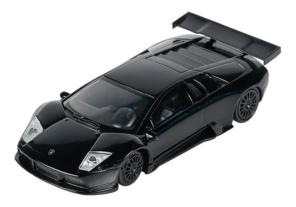 Pitstop Модель автомобиля Lamborghini Murcielago R-GT цвет черный масштаб 1:43 модель автомобиля lamborghini murcielago lp670 4 масштаб 1 43 39500