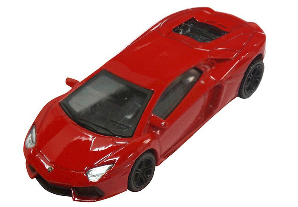 Pitstop Модель автомобиля Lamborghini Aventador LP-700-4 цвет красный pitstop модель автомобиля range rover evoque цвет белый