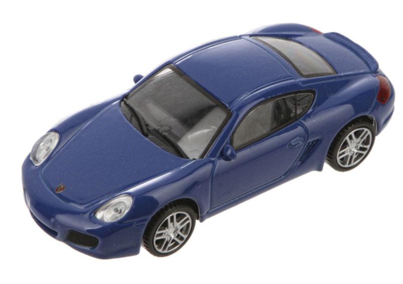 Pitstop Модель автомобиля Porsche Cayman S цвет синий pitstop модель автомобиля range rover evoque цвет белый