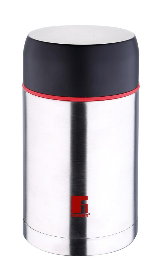 Термос Bergner, 1 л. 7482 MM-BG7482 MM-BGПищевой термос Bergner BG-7482MM, изготовленный с применением технологии вакуумной теплоизоляции, станет вашим верным спутником на отдыхе, работе или в длительном путешествии. Объем пищевого термоса серии Travel составляет 1000 мл. Корпус термоса выполнен из высококачественной нержавеющей стали стойкой к большим перепадам температур. Яркие элементы дизайна красного цвета делают термос заметным и неповторимым в любой обстановке.