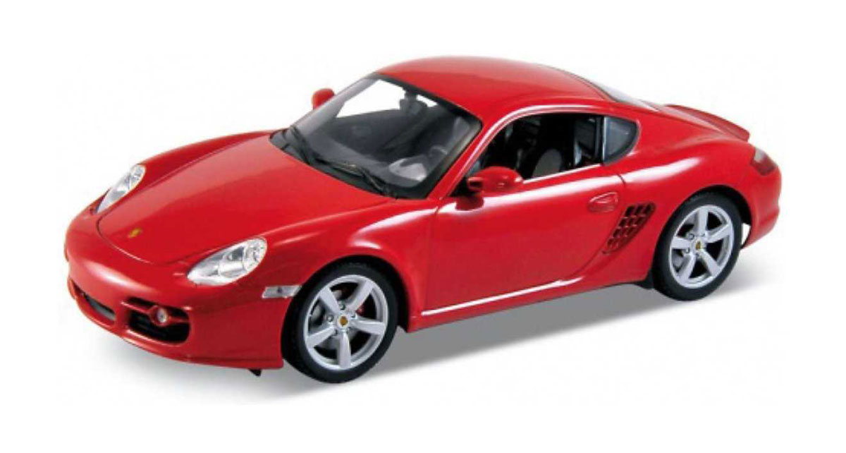 Pitstop Модель автомобиля Porsche Cayman S цвет красный внешний жесткий диск lacie stet2000400 porsche design 2tb серебристый stet2000400