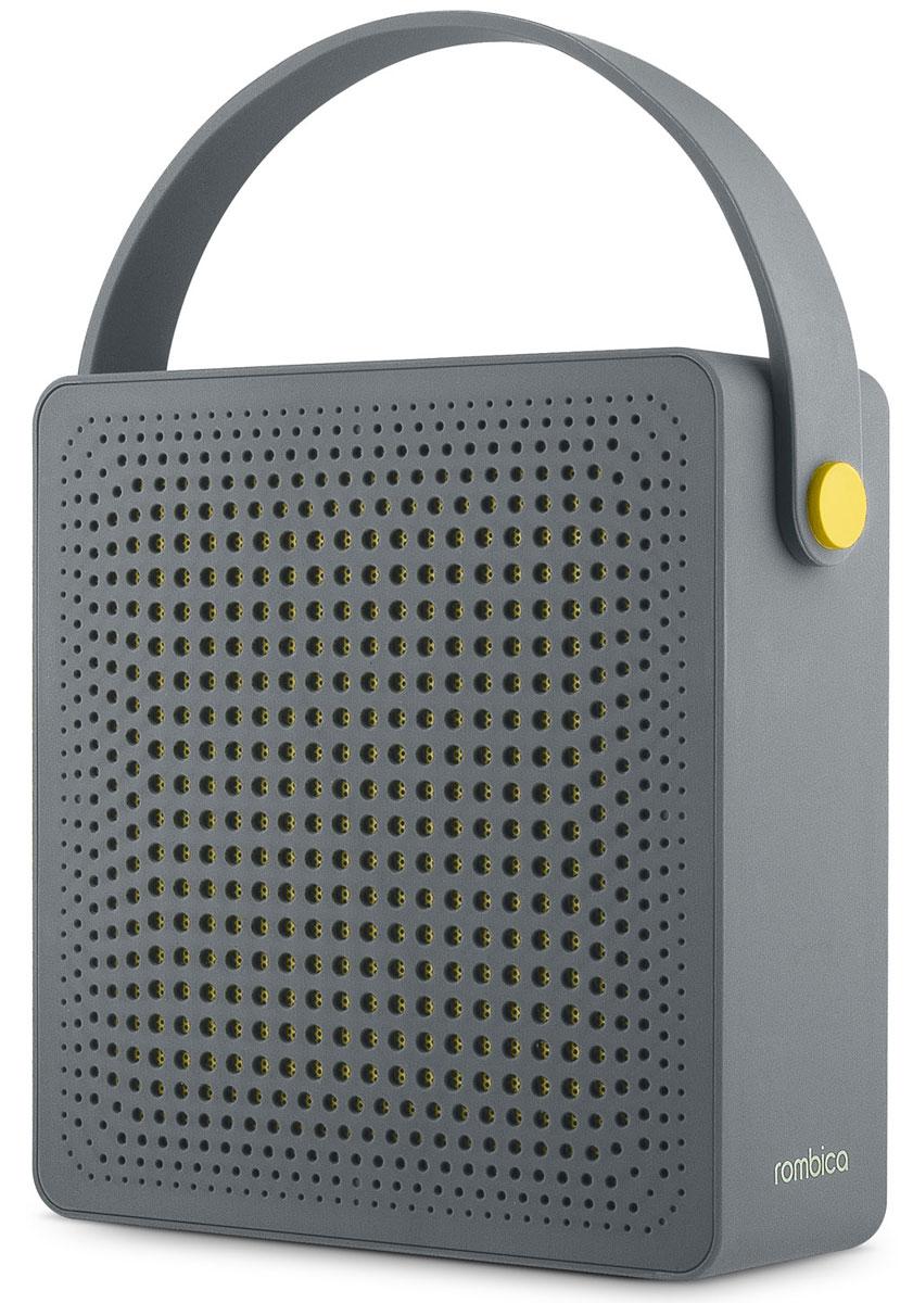 Rombica MySound BT-16 2C портативная акустикаSBT-0016GПортативная акустическая система Rombica MySound BT-16 2C совместима со всеми популярными устройствами с поддержкой Bluetooth. Также колонку можно использовать через AUX-подключение. Встроенный сабвуфер дает глубокий и насыщенный бас. Емкий аккумулятор 2200 мАч обеспечивает долгую работу. MySound BT-16 2C имеет встроенный микрофон для приема звонков.