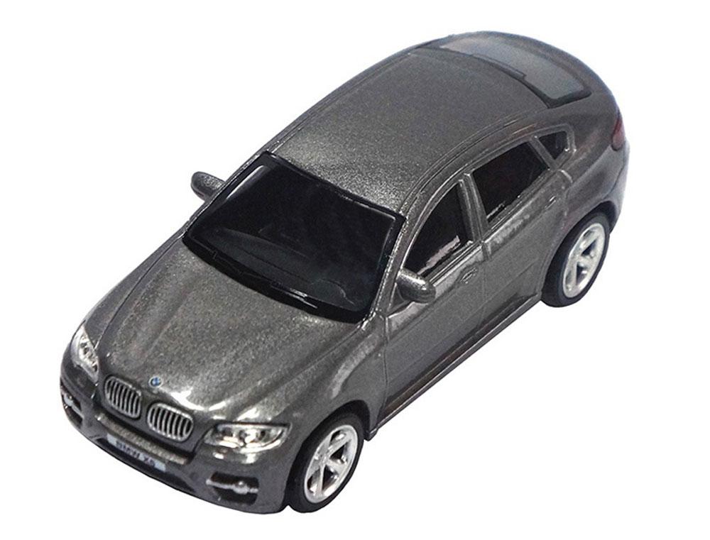 Pitstop Модель автомобиля BMW X6 цвет серый масштаб 1:43 машина pitstop bmw x6 red ps 444002 r