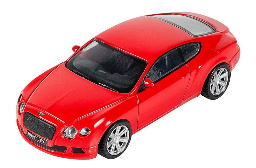 Pitstop Модель автомобиля Bentley Continental GT цвет красный
