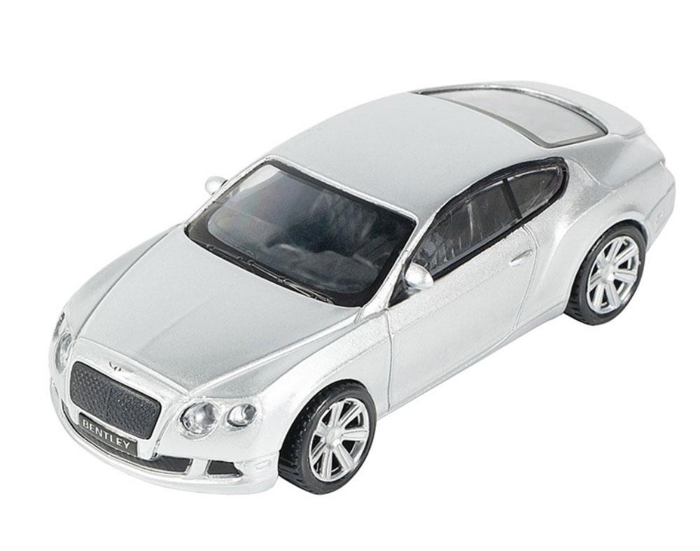 Pitstop Модель автомобиля Bentley Continental GT цвет серебристый pitstop модель автомобиля range rover evoque цвет белый