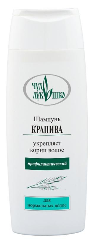 Чудо Лукошко Шампунь Крапива Для нормальных волос, Профилактический, 250 мл60102Эффективно и бережно промывает волосы. Активизирует кровоснабжение волосяных луковиц, питает, поддерживает водно-жировой баланс. D-пантенол восстанавливает разрушенные волосы, укрепляет корни. Витамин Е предохраняет волосы от вредных внешних воздействий и солнца. Кератин укрепляет структуру волос, предотвращая их разрушение. Крапива содержит витамины А, С, Е, К и группы В, делает волосы эластичными, ускоряет их рост, устраняет сухость, ломкость и выпадение, укрепляет волосы, улучшает их структуру, снимает раздражение и шелушение кожи. Аир, лопух, мать-и-мачеха и хмель предупреждают выпадение волос, стимулируют их рост, укрепляют корни волос и питают кожу головы, способствуют легкому расчесыванию. Шампунь защищает волосы от пересушивания и выгорания, придает блеск и пышность, подходит для частого применения.