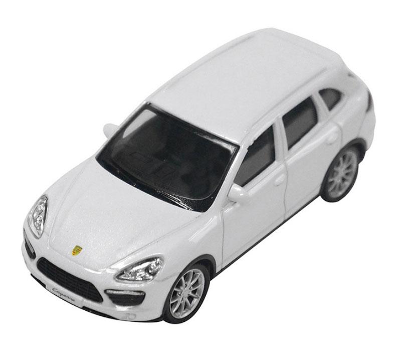 Pitstop Модель автомобиля Porsche Cayenne Turbo цвет белый pitstop модель автомобиля range rover evoque цвет белый