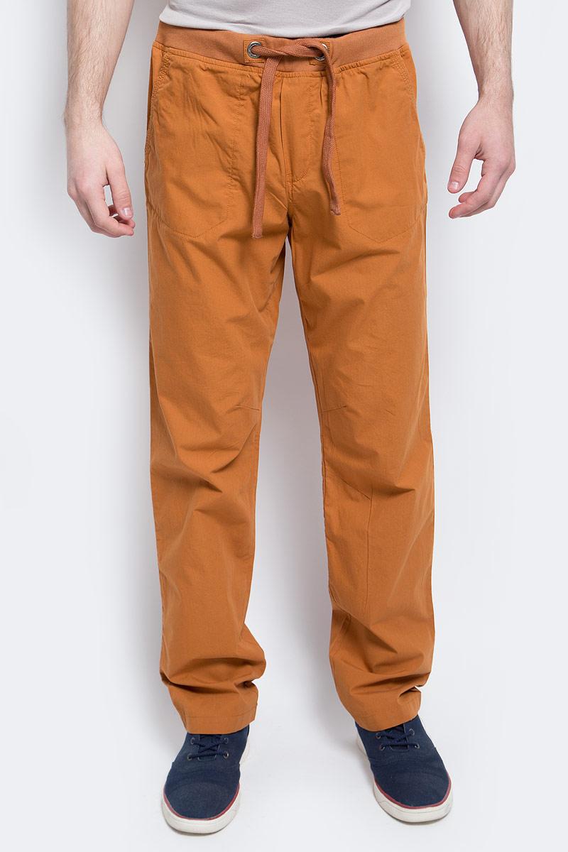 Купить Брюки мужские Finn Flare, цвет: коричневый. S17-42006_611. Размер L (50)