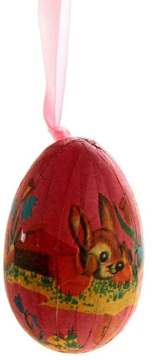 Сувенир пасхальный Sima-land Яйцо. Кролик, 4 х 4 х 6 см, 6 шт634141Пасхальный сувенир Sima-land Яйцо. Кролик выполнен из пенопласта и бумаги в виде яйцас изображением кроликов. В комплект входят 6 яиц, дополненных текстильными петельками дляподвешивания.Яйцо - это главный пасхальный символ, который символизирует для христианновую жизнь и возрождение, поэтому его присутствие на праздничном столе являетсяобязательным элементом во многих странах. Такой сувенир будет не только украшением праздничного стола, но и станет отличным подарком. Размер яйца: 4 х 4 х 6 см.Уважаемые клиенты! Обращаем ваше внимание на цветовой ассортимент товара. Поставка осуществляется взависимости от прихода товара на склад.