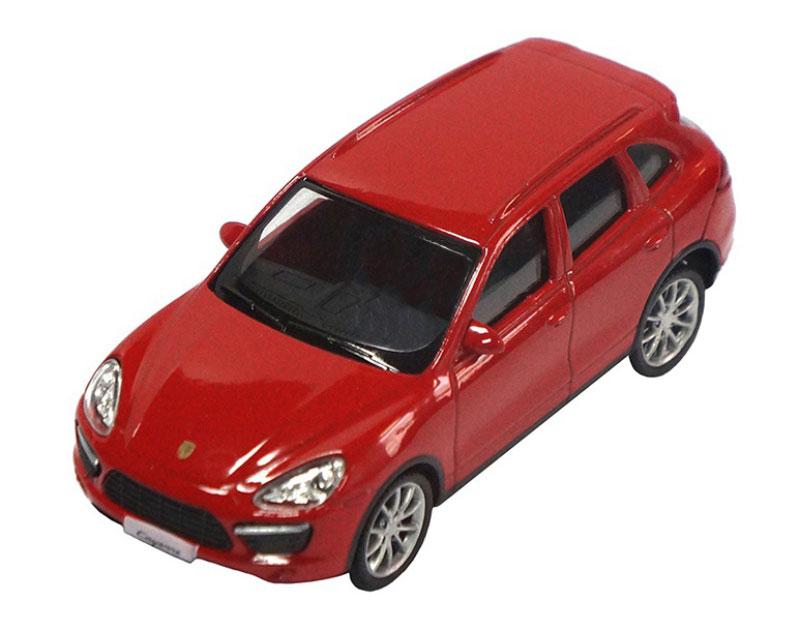 Pitstop Модель автомобиля Porsche Cayenne Turbo цвет красный uni fortunetoys модель автомобиля porsche cayenne turbo