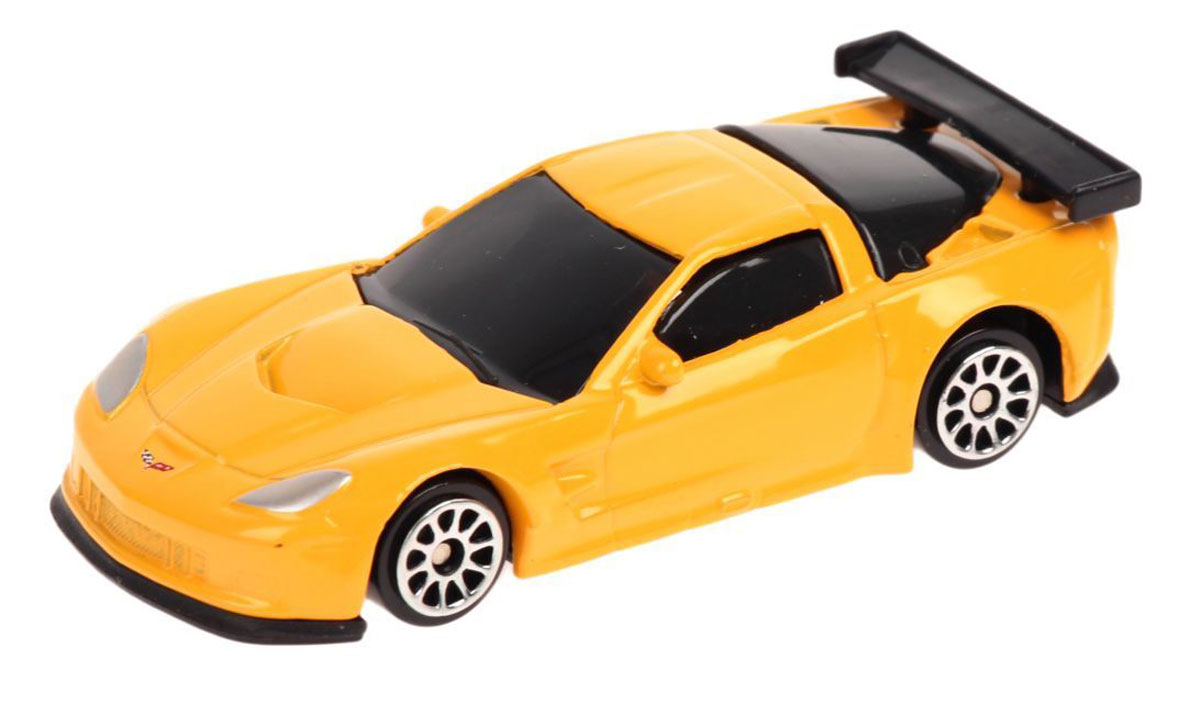 Pitstop Модель автомобиля Chevrolet Corvette C6-R цвет желтый motormax модель автомобиля corvette 1967 цвет черный