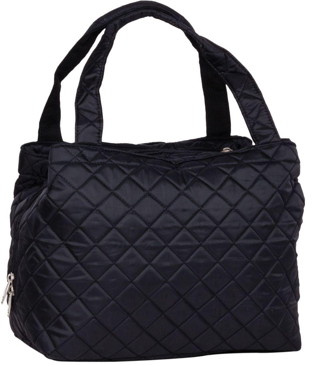 Сумка дорожная Polar Римини, цвет: черный, 25 л. П7077П7077Повседневная дорожная сумка Polar Римини выполнена из полиэстера. Сумка имеет 3 отделения, застегивающиеся на застёжку-молнию.