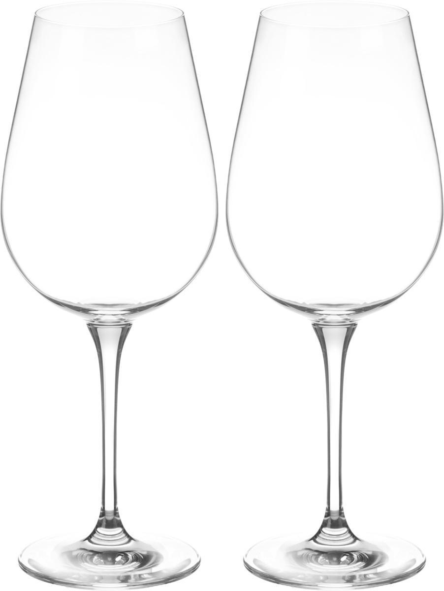 Набор бокалов для вина Wilmax, 700 мл, 2 шт. WL-888035WL-888035 / 2CНабор Wilmax состоит из двух бокалов, выполненных из стекла. Изделия оснащенывысокими ножками и предназначены для подачи вина. Они сочетают в себе элегантныйдизайн и функциональность. Набор бокалов Wilmax прекрасно оформит праздничныйстол и создаст приятную атмосферу за романтическим ужином. Такой набор также станетхорошим подарком к любому случаю. Бокалы можно мыть в посудомоечной машине. Диаметр бокала по верхнему краю: 6,5 см.Диаметр основания: 8,3 см. Высота бокала: 25,5 см.