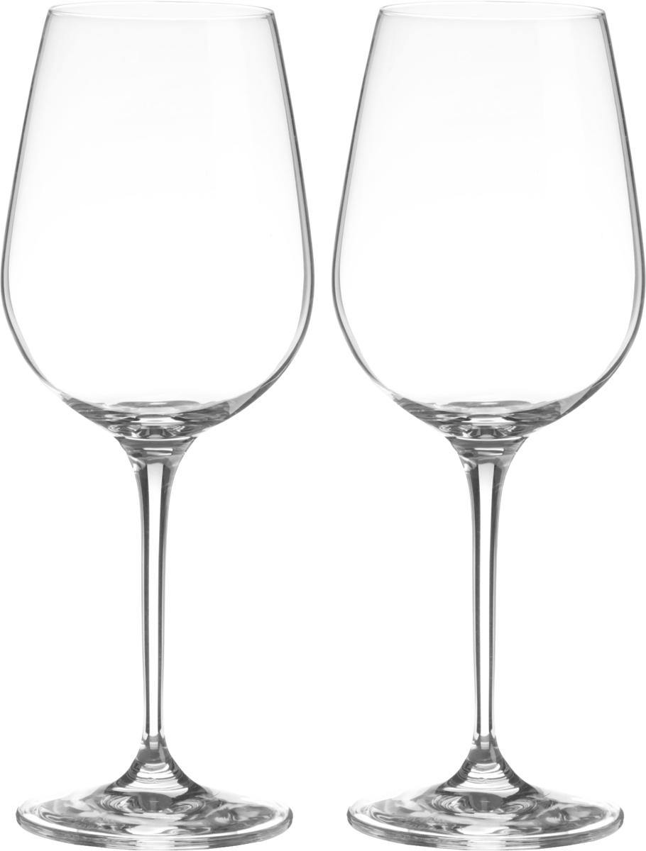 Набор бокалов для вина Wilmax, 470 мл, 2 штWL-888033 / 2CНабор Wilmax состоит из двух бокалов, выполненных из стекла. Изделия оснащенывысокими ножками и предназначены для подачи вина. Они сочетают в себе элегантныйдизайн и функциональность. Набор бокалов Wilmax прекрасно оформит праздничныйстол и создаст приятную атмосферу за романтическим ужином. Такой набор также станетхорошим подарком к любому случаю. Бокалы можно мыть в посудомоечной машине. Диаметр бокала по верхнему краю: 6 см.Диаметр основания: 7,5 см. Высота бокала: 22,5 см.