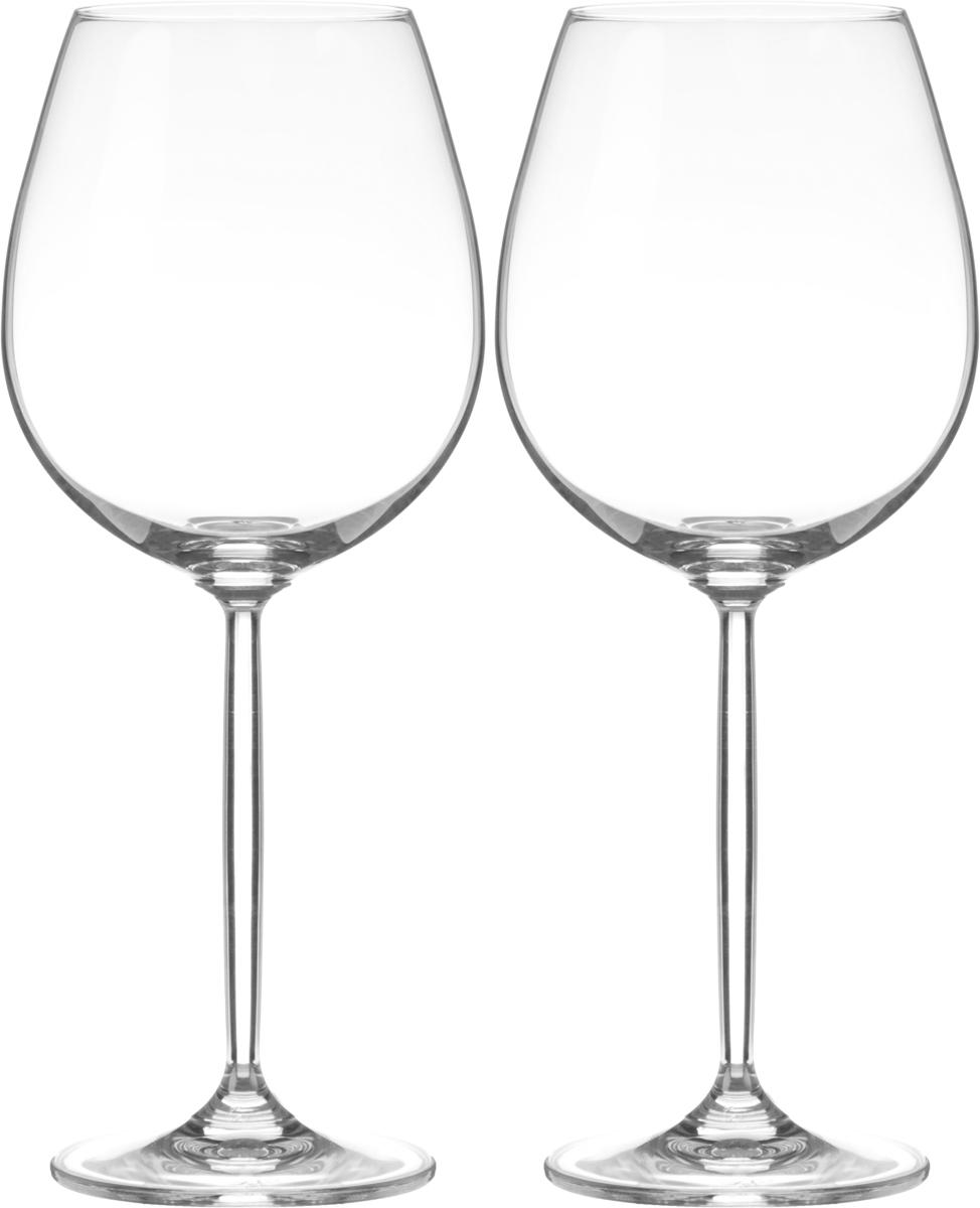 Набор бокалов для вина Wilmax, 630 мл, 2 штWL-888002 / 2CНабор Wilmax состоит из двух бокалов, выполненных из стекла. Изделия оснащены высокими ножками и предназначены для подачи вина. Они сочетают в себе элегантный дизайн и функциональность. Набор бокалов Wilmax прекрасно оформит праздничный стол и создаст приятную атмосферу за романтическим ужином. Такой набор также станет хорошим подарком к любому случаю. Бокалы можно мыть в посудомоечной машине.Диаметр бокала по верхнему краю: 6,5 см.Диаметр основания: 8 см.Высота бокала: 24,5 см.