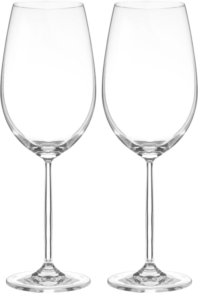 Набор бокалов для вина Wilmax, 770 мл, 2 штWL-888000 / 2CНабор Wilmax состоит из двух бокалов, выполненных из стекла. Изделия оснащены высокими ножками и предназначены для подачи вина. Они сочетают в себе элегантный дизайн и функциональность. Набор бокалов Wilmax прекрасно оформит праздничный стол и создаст приятную атмосферу за романтическим ужином. Такой набор также станет хорошим подарком к любому случаю. Бокалы можно мыть в посудомоечной машине.Диаметр бокала по верхнему краю: 7,3 см.Диаметр основания: 8,3 см.Высота бокала: 27 см.