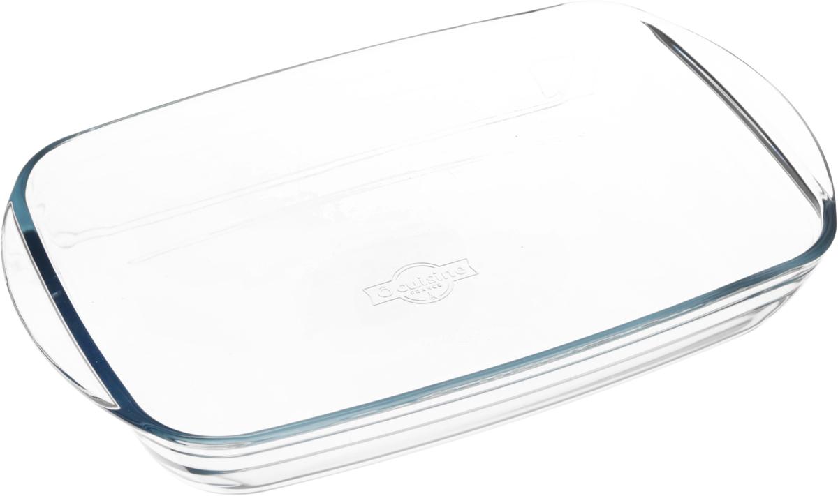 Форма для запекания Pyrex, прямоугольная, 32 х 20 х 5 см247BC00Форма для запекания Pyrex изготовлена из термостойкого, экологически чистого стекла. Изделие выдерживает температуру от -40°С до +300°С. Не содержит кадмия и свинца. Толстые стенки изделия позволяют пище готовиться быстро и равномерно. Форма предназначена для приготовления пищи в духовке, жарочном шкафу и микроволновой печи, пригодна для хранения и замораживания различных продуктов, а также для сервировки пищи.Внутренний размер формы (без учета ручек): 28,5 х 19,2 х 4,5 см.