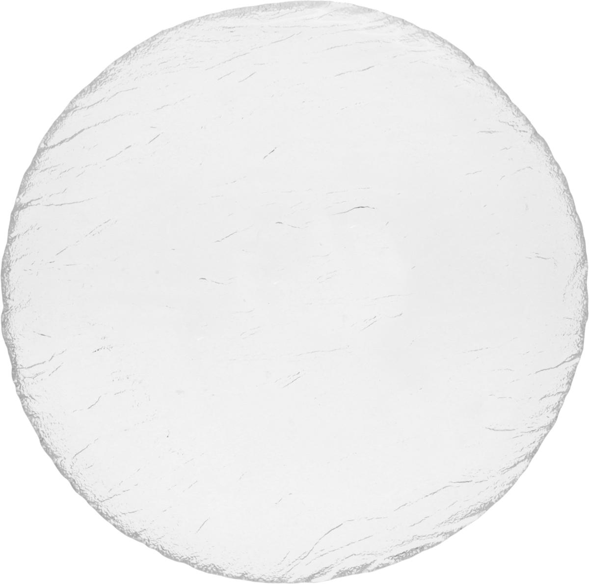 Тарелка десертная OSZ Вулкан, цвет: прозрачный, диаметр 19 см шери уайтфезер вулкан страсти