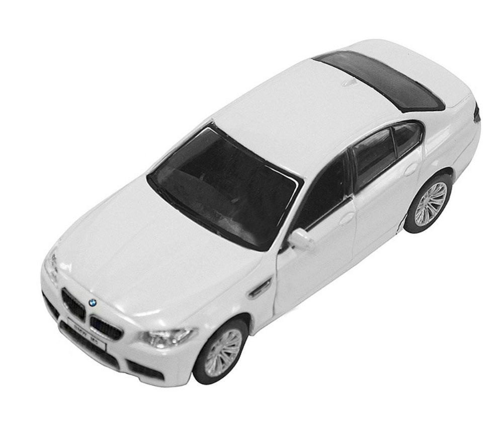 Pitstop Модель автомобиля BMW M5 цвет белый масштаб 1:32 pitstop модель автомобиля range rover evoque цвет белый