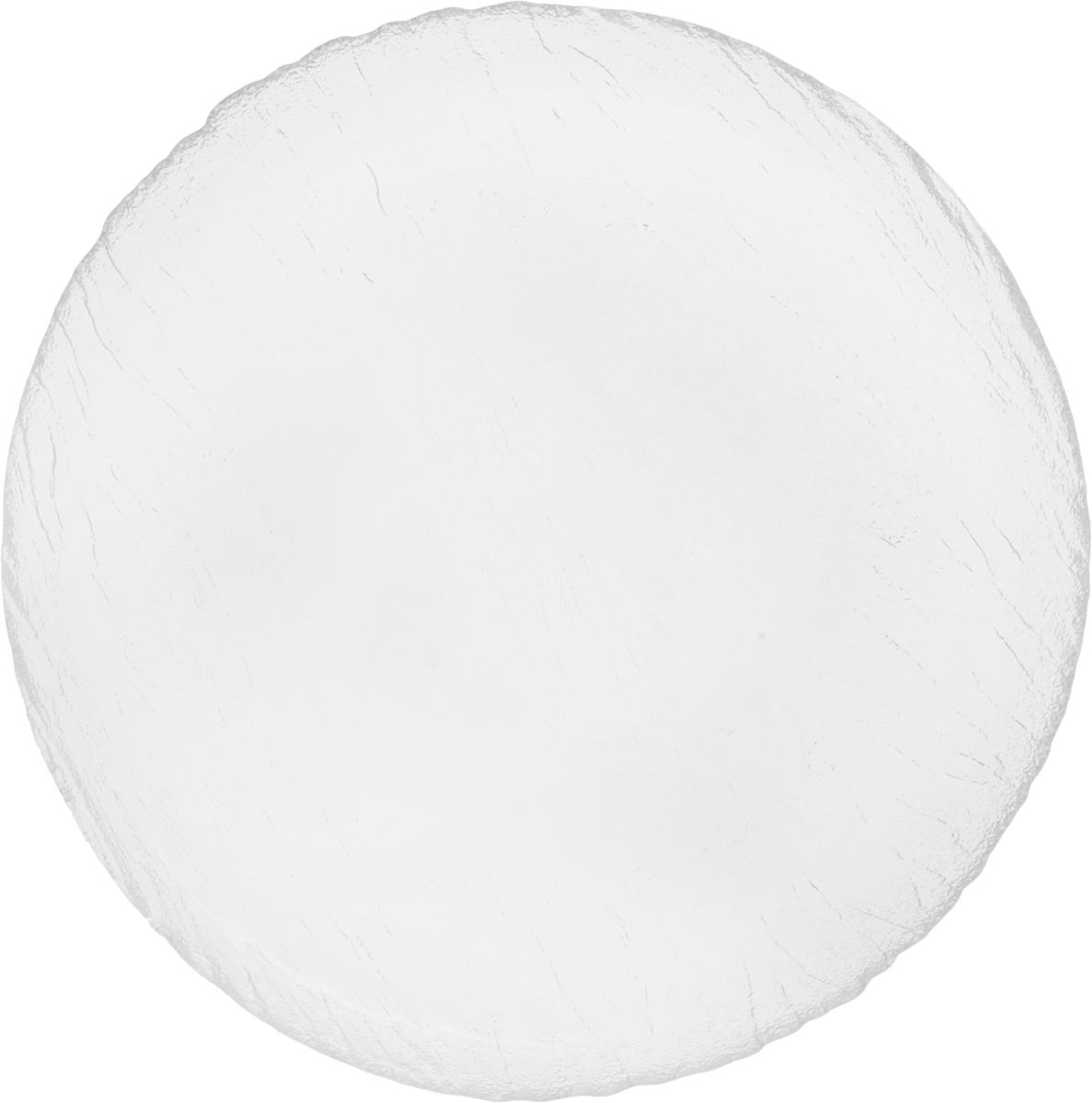 Тарелка обеденная OSZ Вулкан, цвет: прозрачный, диаметр 25 см шери уайтфезер вулкан страсти
