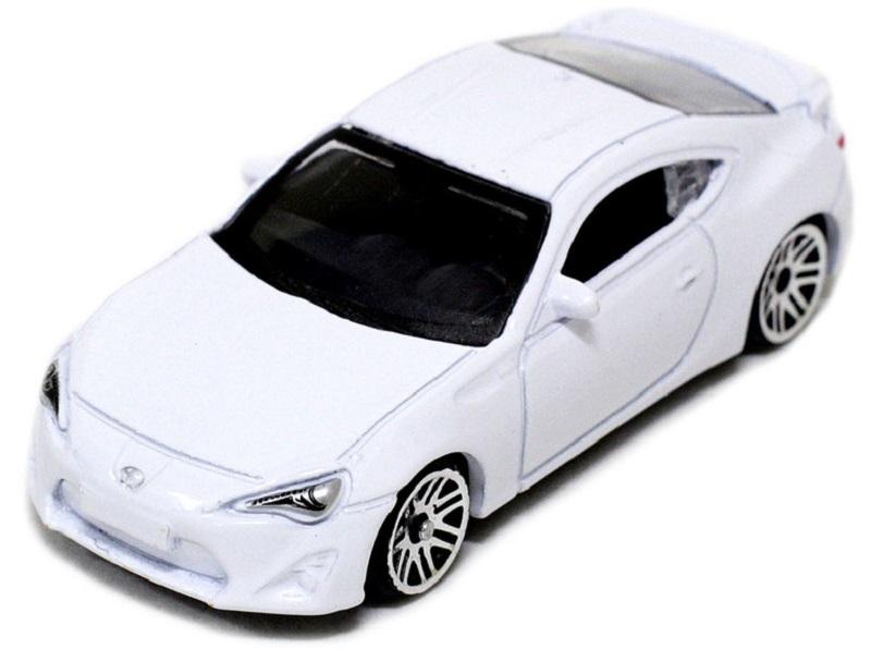 Pitstop Модель автомобиля Toyota GT-86 цвет белый pitstop модель автомобиля toyota gt 86 цвет красный