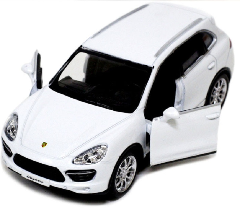 Pitstop Машинка инерционная Porsche Cayenne Turbo цвет белый машины pit stop машинка инерционная porsche cayenne turbo 1 32
