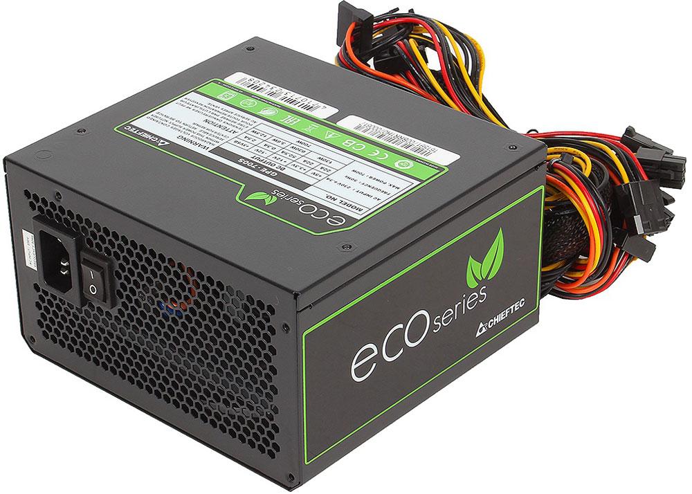 Chieftec GPE-700S блок питания для компьютера4710713234208Блок питания Chieftec GPE-700S относится к серии ECO, что открывает новую эпоху развития источников питания для ПК и отвечает самым современным европейским директивам энергоэффективности и охраны окружающей среды.В отличие от большинства конкурентов, данный блок ориентирован на фиксированное напряжение 230В в электрических сетях, имеет сертификат TUV и отвечает всем действующим стандартам качества ЕС (в том числе ENERGY STAR 5.0), что позволяют ему стать надёжным и эффективным компаньоном для современных ИТ-структур.Как собрать игровой компьютер. Статья OZON Гид
